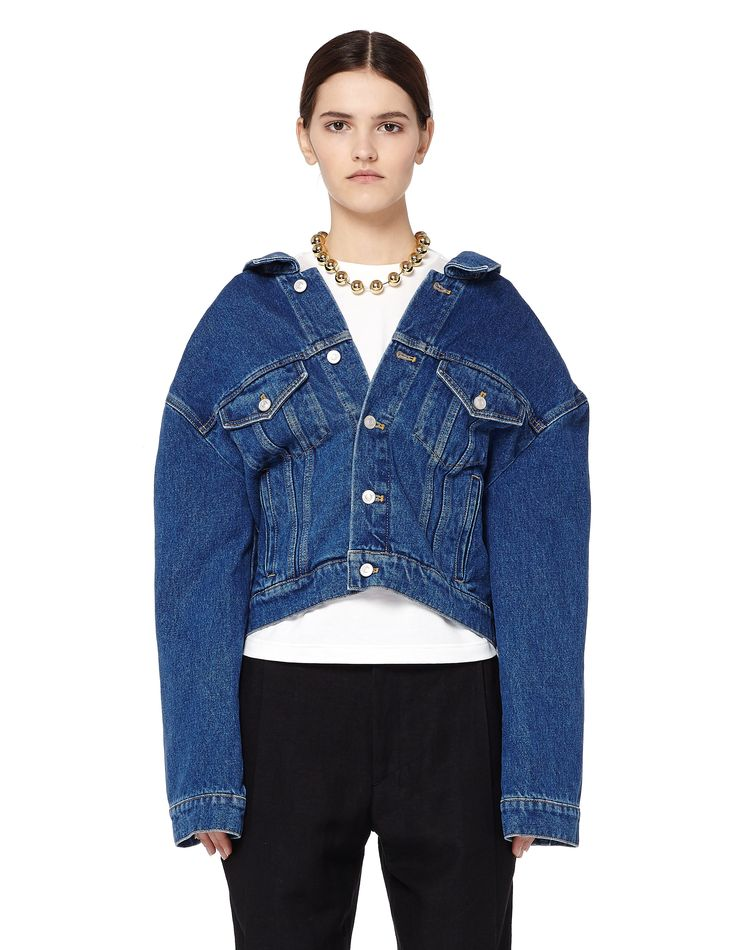 Denim jacket by Balenciaga — SVMoscow