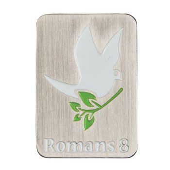 Romans 8:28-39 Verse Memory Pin