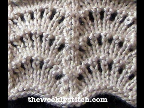 ▶ Scallop Stitch - YouTube