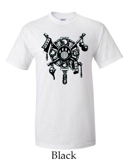 Pandaren Crest World of Warcraft Mens T-shirt