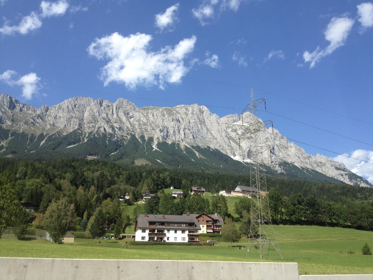 Dachstein from Vespa scooter .-)