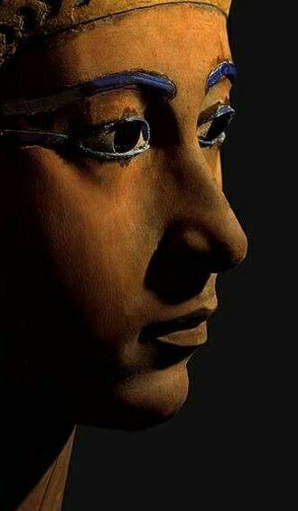 Queen Meryetamun,the eldest daughter of Thutmose III and also the wife of Amenhotep II. She probably died soon after becoming queen.The robbers had stripped the orginally of the wrappings from the body to remove any valuable items, - the mummy was re-wrapped by the High Priest restorers.