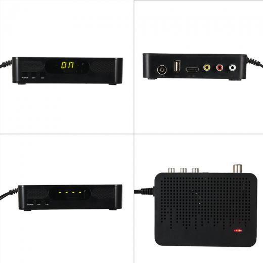 Docooler K3 Dvb-t2 Digital Video Broadcasting Terrestrial Receiver Full 1080p Set Top Box