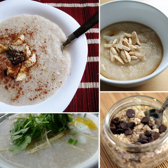 Whole Grain Hot Cereal recipes - whole grains are a great way to start your day. They are loaded with fiber and will keep you feeling satisfied well into your morning. Use natural sweeteners such as pure maple syrup or honey, or add flavor with cinnamon, nutmeg,  even a little cocoa powder.