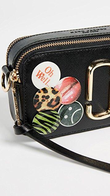 8fe113c32c27 Marc Jacobs Snapshot Badges Camera Bag