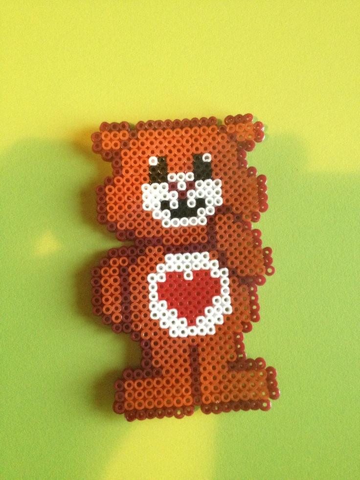 Care Bear hama beads by Anna Mimó Font