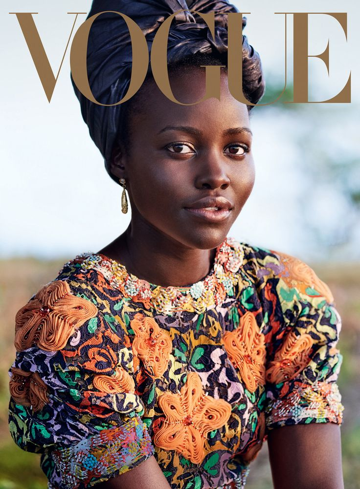 In her new movie, Queen of Katwe, Lupita Nyong'o brings her talent and brilliance to a story from her native East Africa. To celebrate, she takes Vogue—and the most glorious prints of the season—to her family's village in Kenya.