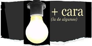 Energía luminica costosa