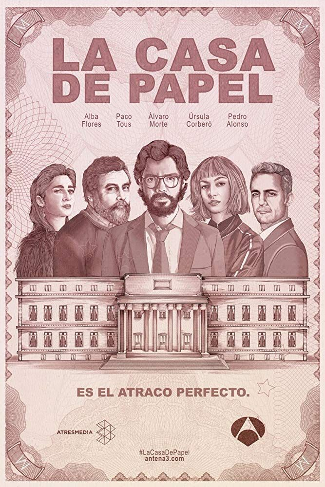 La casa de papel (Money Heist) Season 01-02 All Episodes {720p 250Mb