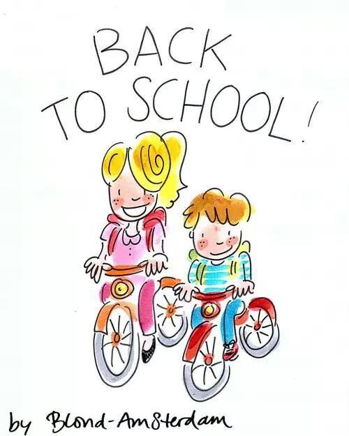 Back to school - Blond Amsterdam