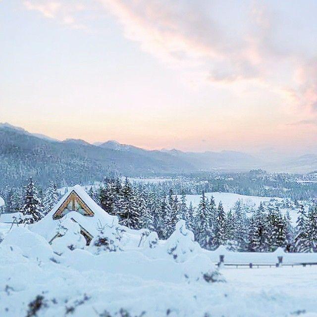 "Instagram account: @passion_shake: ""Winter moments  #winter #mountains #zakopane"