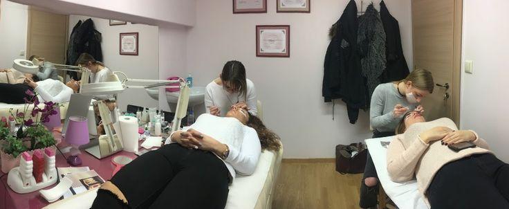 Lash training  Athens -Elisabeth Lashes