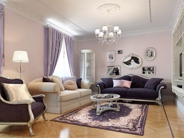 Light Purple Living Room Casa Pinterest Chairs Purple Living Rooms And Couch