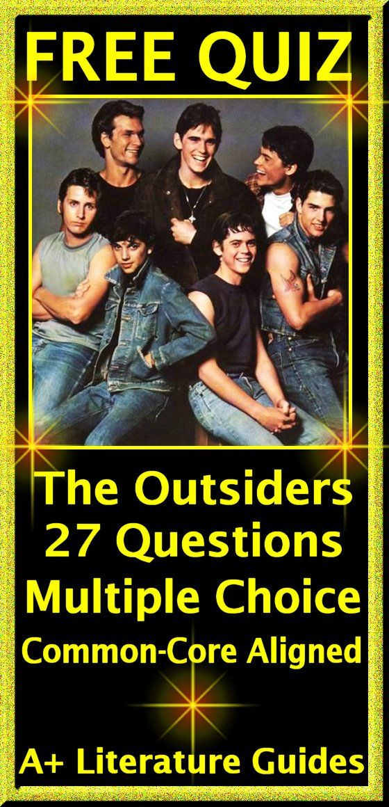 The Outsiders Questions and Answers