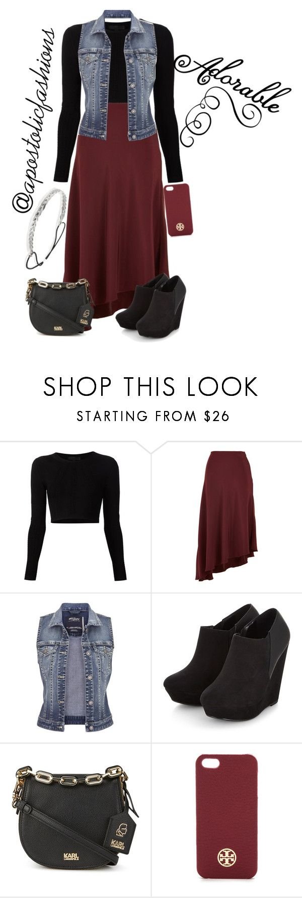 """""""Apostolic Fashions #1473"""" by apostolicfashions on Polyvore featuring Cushnie Et Ochs, TIBI, maurices, Tory Burch, Express, modestlykay and modestlywhit"""