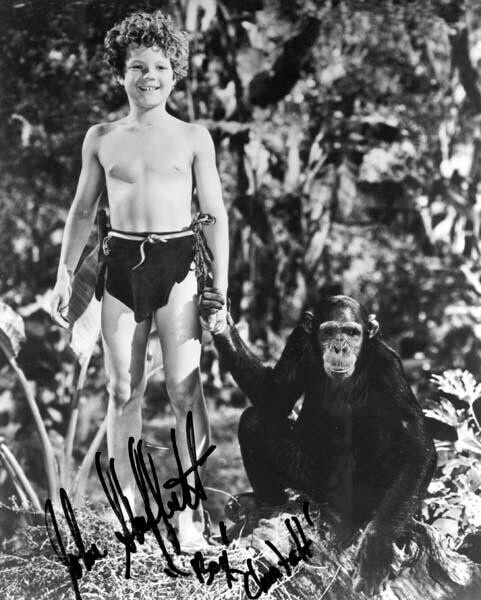 "Johnny Sheffield, played ""Boy"" in the old Tarzan movies."
