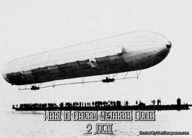 Peristiwa Penting Hari Ini Dalam Sejarah Dunia (2 Julai) http://ift.tt/2suUsob