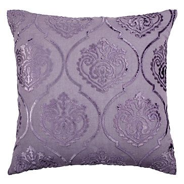 Andora Pillow (2). Love how this purple could match perfectly with the gray. #zgallerie