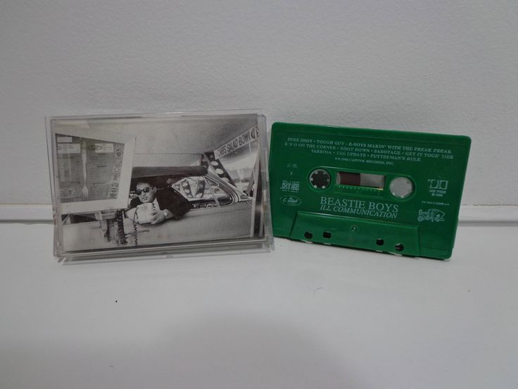 Vintage 1994 Collectible Beastie Boys Ill Communication Green Cassette Tape Music Album by Capitol Records 90s Classic Original Hip Hop Rap by PopWildlife on Etsy