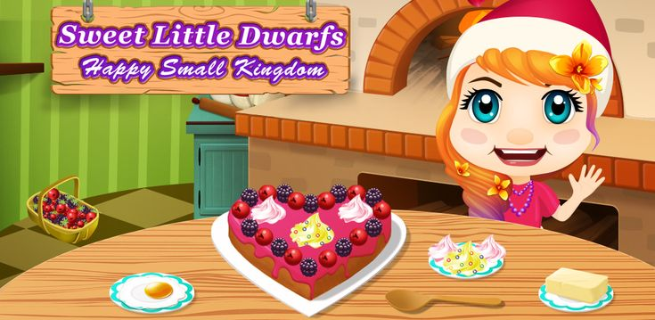 As you know, #release of the game soon and we want to tell you a little about the game, to reveal the mystery of the gameplay. About one of mini game where Milla wants to #cook a #cake, and in this sh... #games #gameart #art #sweet #little #dwarf #happy #kingdom #release #gnom #cute #dressup #makeup
