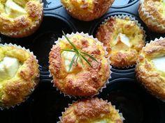 Kukuřičné muffiny s fetou | Ze zahrady do kuchyně