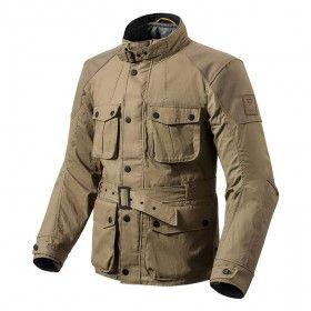 revit zircon jacket - sand - front