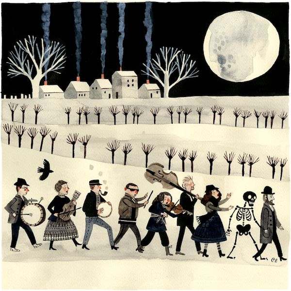 Carson Ellis #illustration #musicians