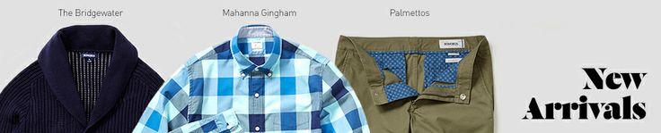 New Clothing for Men, Mens' New Clothing | Bonobos
