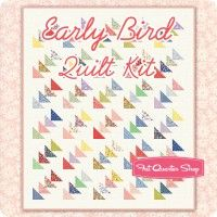 Early Bird Quilt Kit Featuring 30's Playtime 2017 by Chloe's Closet