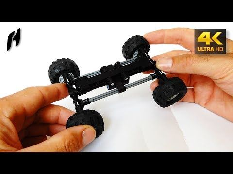How to Build the Tatra Suspension with Torsion Bar (Lego Technic - Second Version - 4K) - YouTube
