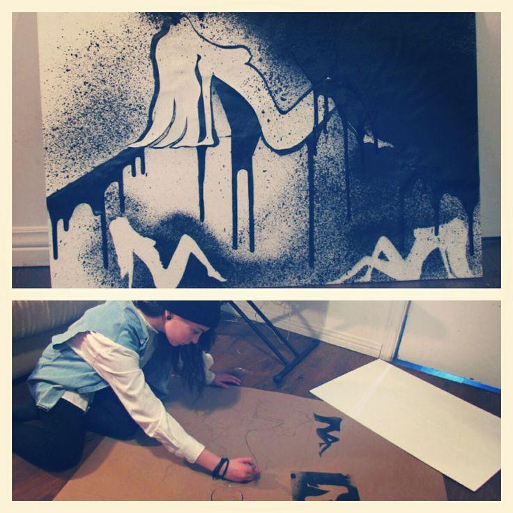 Une petite conception #art #femme  By: Sarah-Claude Lévesque St-Louis