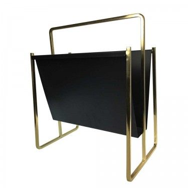 MD Maxwell Magazine Holder Brass