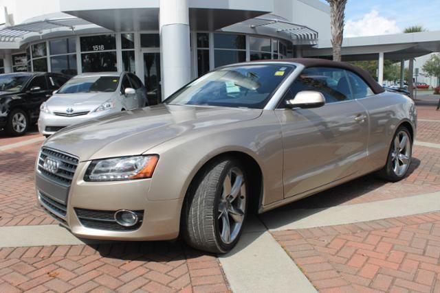 2010 Audi A5 2.0T Premium (CVT) Cabriolet in Fayetteville, North Carolina, $ 27,980.00