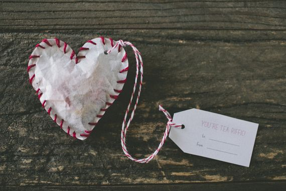 Heart-Shaped Tea Bags | 41 Heart-Shaped DIYs To Actually Get You Excited For Valentine's Day