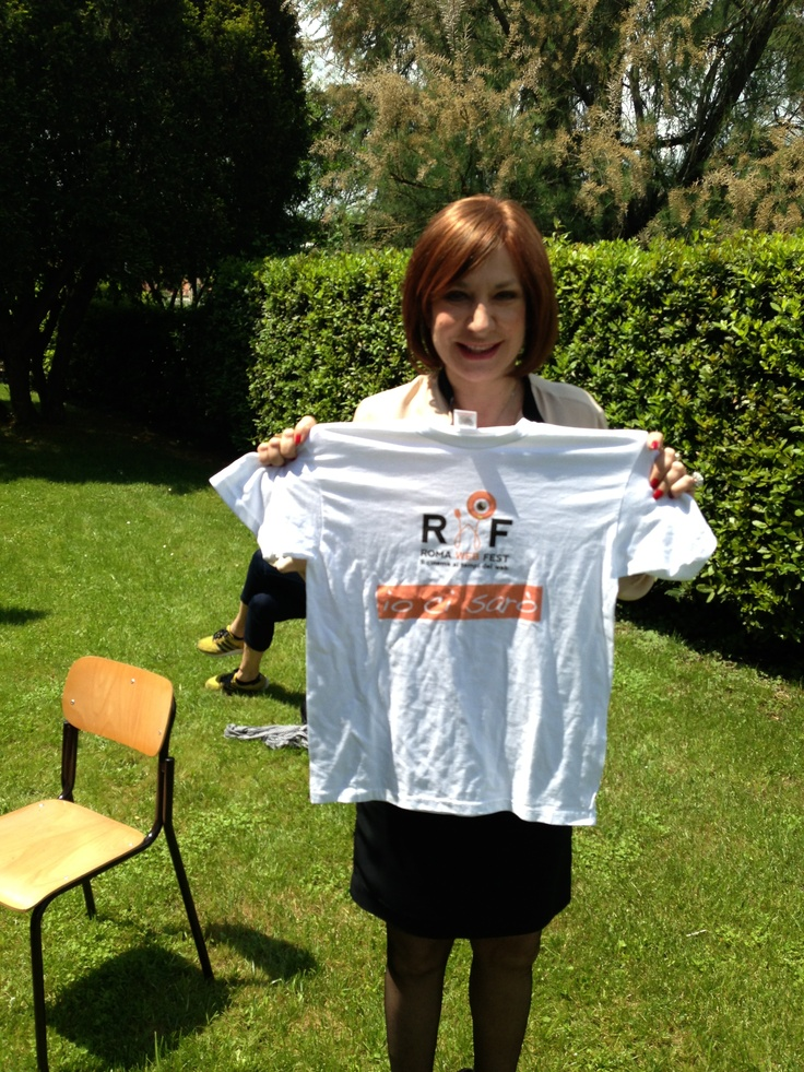 Monica Scattini tra gli amici di #RomaWebFest #rwf #rwf2013
