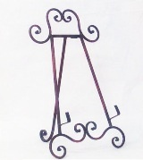 Dark Brown Iron Easel 49.5 * 29.5 * 5cm (TAN-SJ3607) - Perkal Corporate Gifts