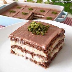 طرز تهیه کیک بیسکویت پودینگی دسر خوشمزه و مجلسی مجله تصویر زندگی Cake Ingredients Biscuit Cake Food