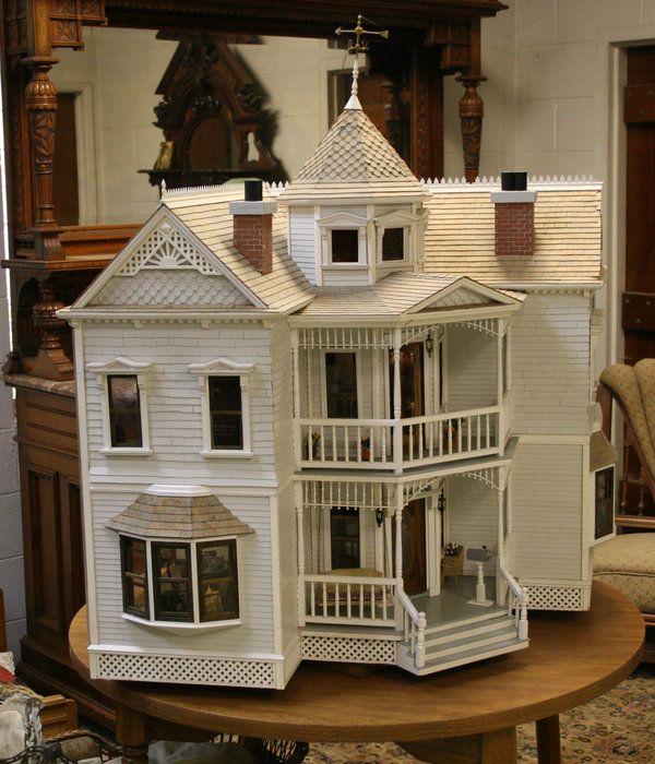 1746 best dollhouses artistic unique images on pinterest for Unique doll houses