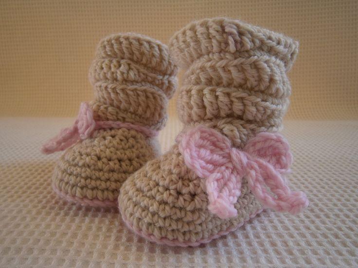 crochet booties https://www.facebook.com/kalypso.h?ref=hl