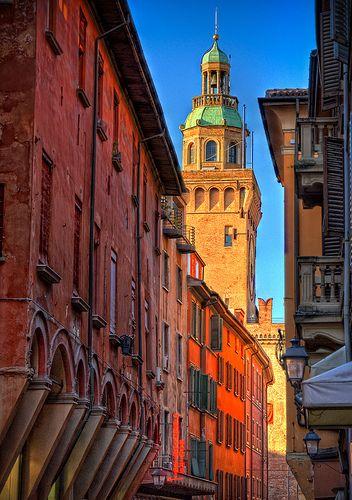 Via d'Azeglio, Bologna, Italy