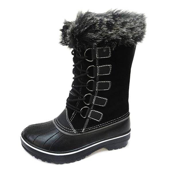 Tamarack Women's Alpine Fur Lined Winter Pac Boot from Blain's Farm and Fleet