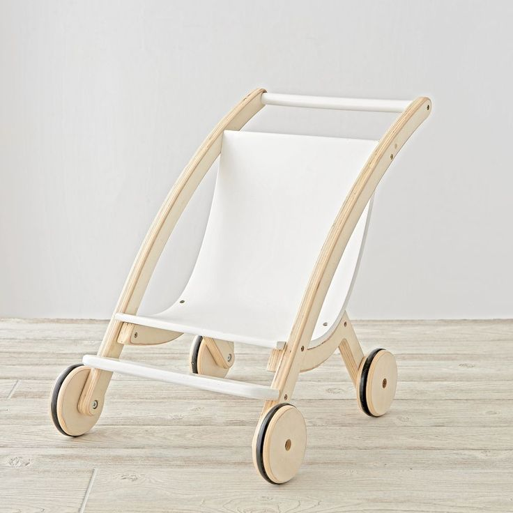 Shop Mod Doll Stroller.  Even the fussiest of dolls will fall asleep after a short stroll in our Mod Doll Pram.  It's scaled down for your kid's dolls and designed exclusively for us by Royce Nelson.