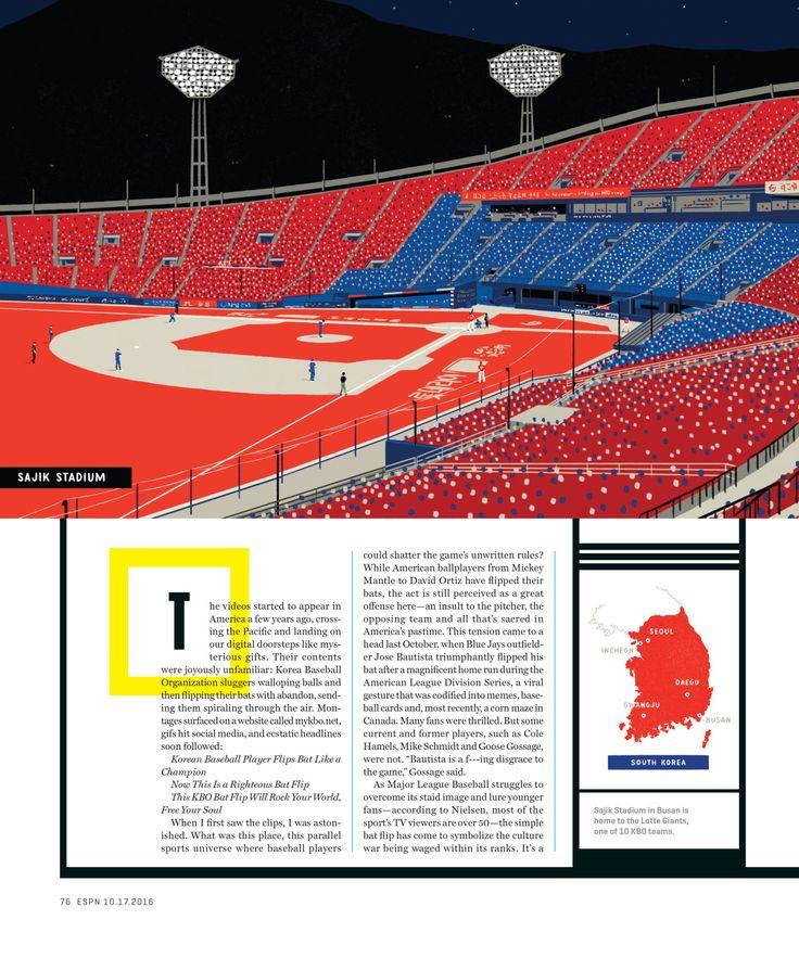 ESPN The Magazine / Great Debates Illustration by Mickey Duzyj http://www.mduzyj.com/