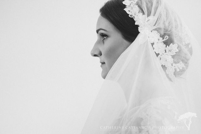 Beautiful Janelle. Bespoke veil by bridget michelle. Wedding gown by Sophie Voon Bridal. Photography by Catherine Cattanach.