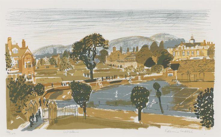 Edwin La Dell (1914-1970)  Wrekin College, Wellington, Telford