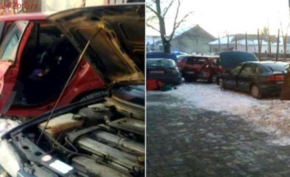 Panika na Rožňavsku: Kamion najel mezi auta. Jeden mrtvý, několik zraněných