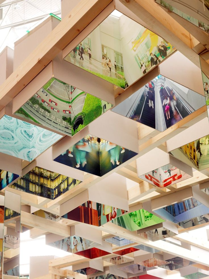 interactive design lounge at art basel hong kong by swire properties