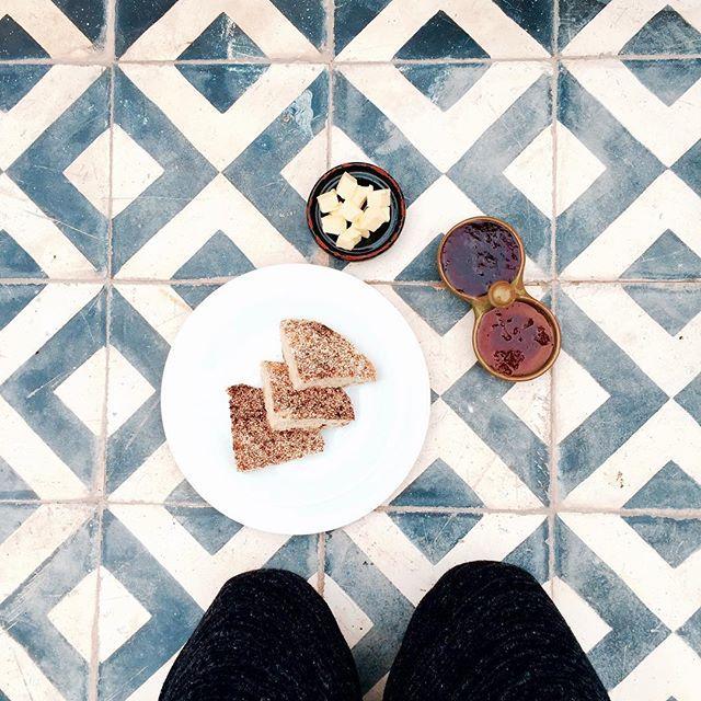 Well...#morning #breakfast #tiles #home