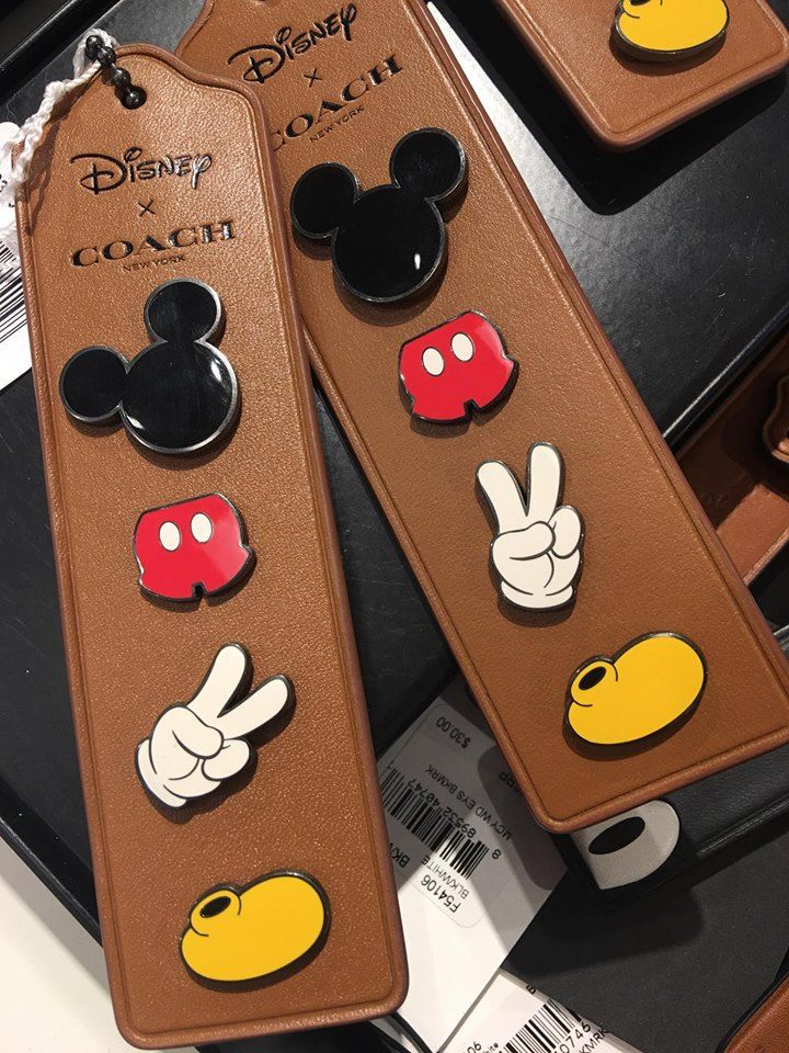 Here is a look at the Disney x COACH Pins! On May 15, 2017 COACH released a Disney collection including some pins! Check it out here.