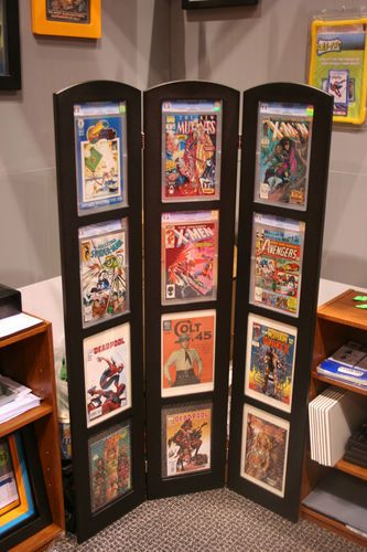 Comic Book Tri-Fold Display CGC PGX Holds 12 Books GradeCom Frame SS 8 9 10